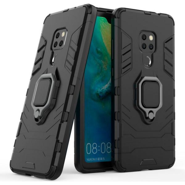 Купить Чехлы для телефонов, ударопрочный Transformer Ring под магнитный держатель для Huawei Mate 20 (черный / Soul Black) (680951), Epik