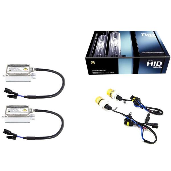 Купить Ксенон, Комплект ксенона Infolight Pro (с обманкой) 35w H1 +50% 4300k