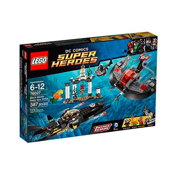 Купить Конструкторы, LEGO Super Heroes 76027 Black Manta Deep Sea Strike Подводный удар Чёрного Манты