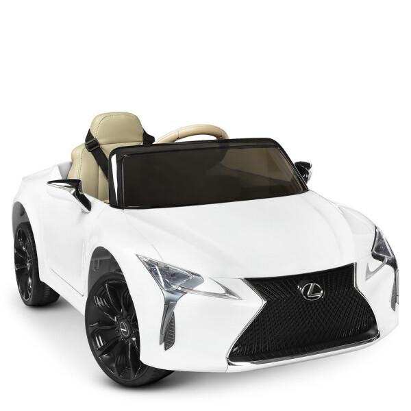 Купить Детские электро- и веломобили, Электромобиль Машина JE1618EBLR-1 белый BAMBI