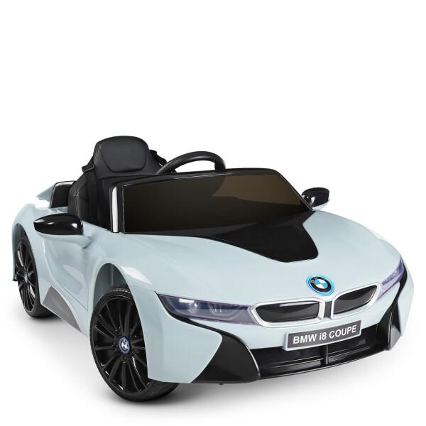 Купить Детские электро- и веломобили, Электромобиль Машина JE1001EBLR-4 голубой BAMBI