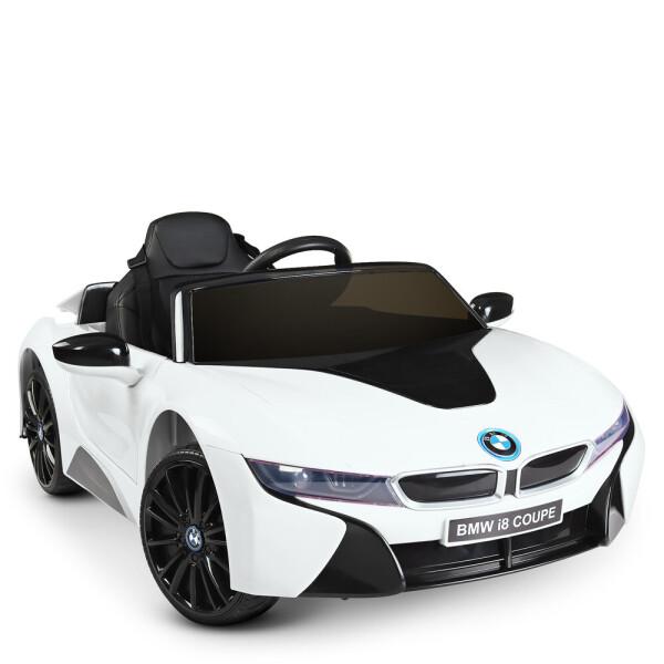 Купить Детские электро- и веломобили, Электромобиль Машина JE1001EBLR-1 белый BAMBI