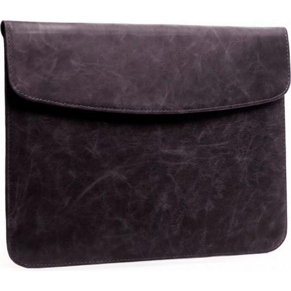 Купить Сумки для ноутбуков, -конверт серый GMAKIN (GML10) из натуральной кожи (серый) (391695)