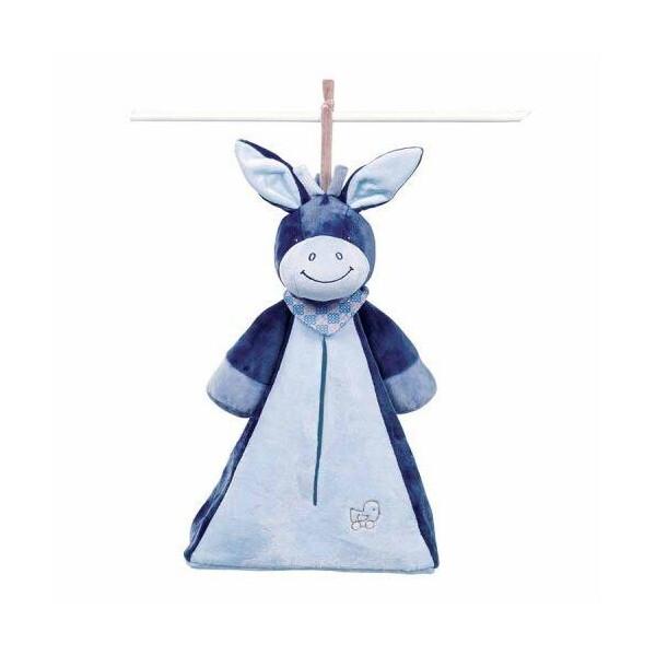 Купить Мягкие игрушки, Мягкая игрушка Nattou Сумка для подгузников Ослик Алекс (321495)