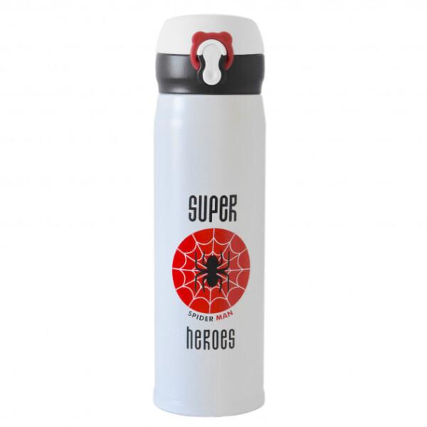 Термокружка для детей супергерои Super Heroes 500 мл Человек паук