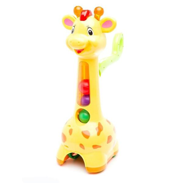 Купить Игрушки для самых маленьких, Игрушка каталка Kiddieland Аккуратный жираф (052365)