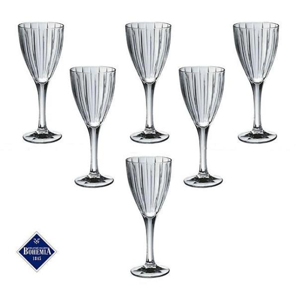 Купить Бокалы и фужеры, Набор бокалов для вина «КАРЕН» 200 мл Bohemia 663-071