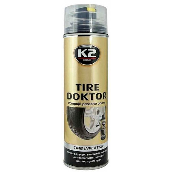 Купить Автокосметика, Аварийный герметик K2 TIRE DOKTOR USA 355ml (B310)