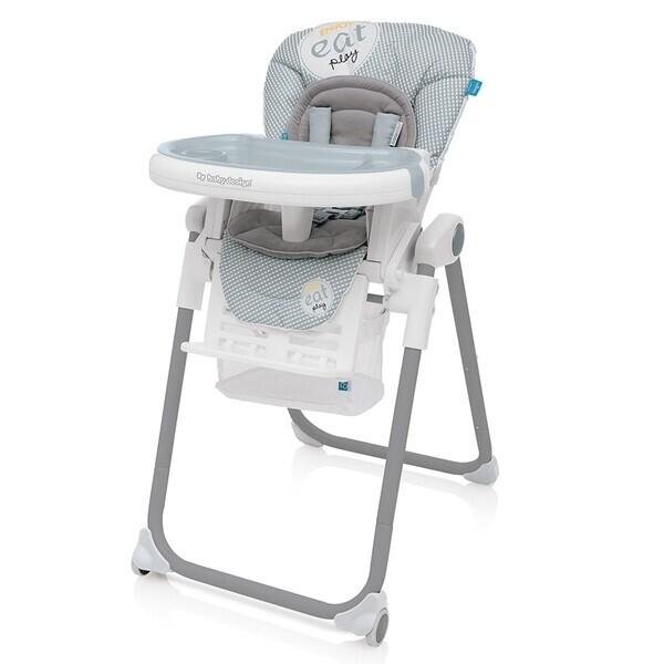 Купить Стульчики для кормления, Стульчик для кормления Baby Design Lolly-07 2017, серый (20781)