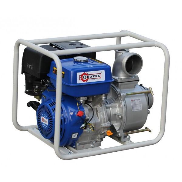 Мотопомпы, Мотопомпа бензиновая Odwerk GТP 100 A NEW для грязной воды (13 л.с., 1733 л/мин)  - купить со скидкой