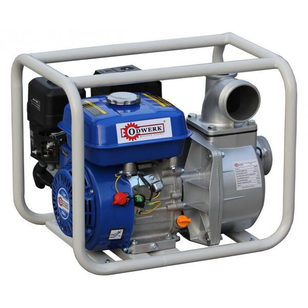 Купить Мотопомпы, Мотопомпа бензиновая Odwerk GTP 80 для грязной воды (7 л.с., 1300 л/мин)