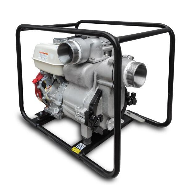 Купить Мотопомпы, Мотопомпа бензиновая Daishin SWT-100HX для грязной воды