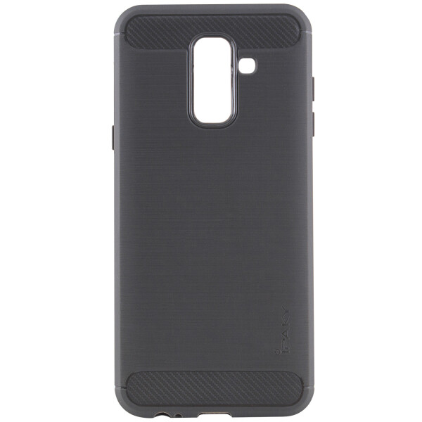 Купить Чехлы для телефонов, TPU чехол iPaky Slim Series для Samsung Galaxy A6 Plus (2018) / Galaxy J8 (2018) Серый (82107)