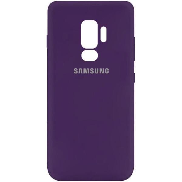 Купить Чехлы для телефонов, Чехол Silicone Cover My Color Full Protective (A) для Samsung Galaxy S9+ Фиолетовый / Purple, Epik