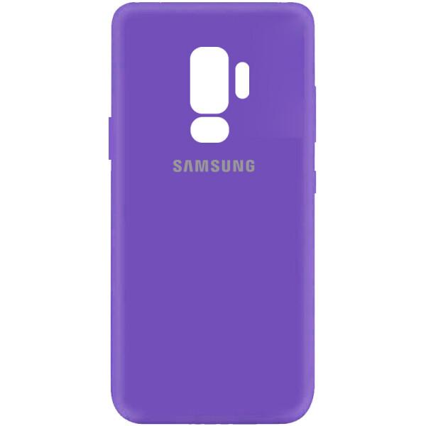 Купить Чехлы для телефонов, Чехол Silicone Cover My Color Full Protective (A) для Samsung Galaxy S9+ Фиолетовый / Violet, Epik