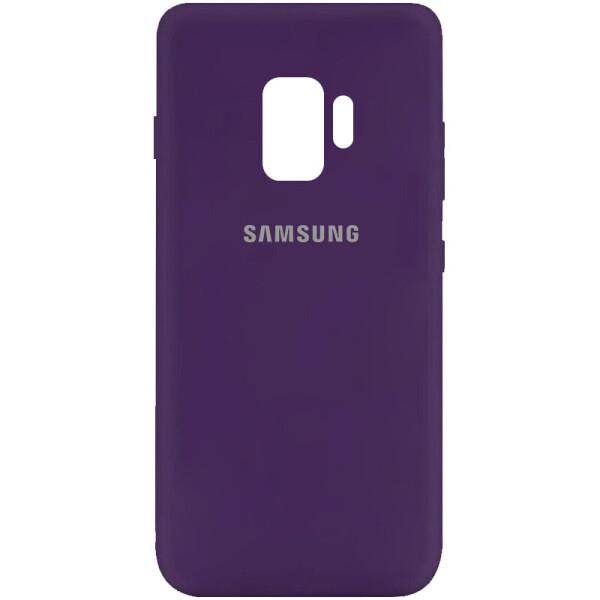 Купить Чехлы для телефонов, Чехол Silicone Cover My Color Full Protective (A) для Samsung Galaxy S9 Фиолетовый / Purple, Epik