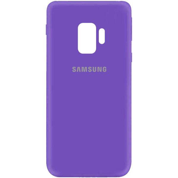 Купить Чехлы для телефонов, Чехол Silicone Cover My Color Full Protective (A) для Samsung Galaxy S9 Фиолетовый / Violet, Epik