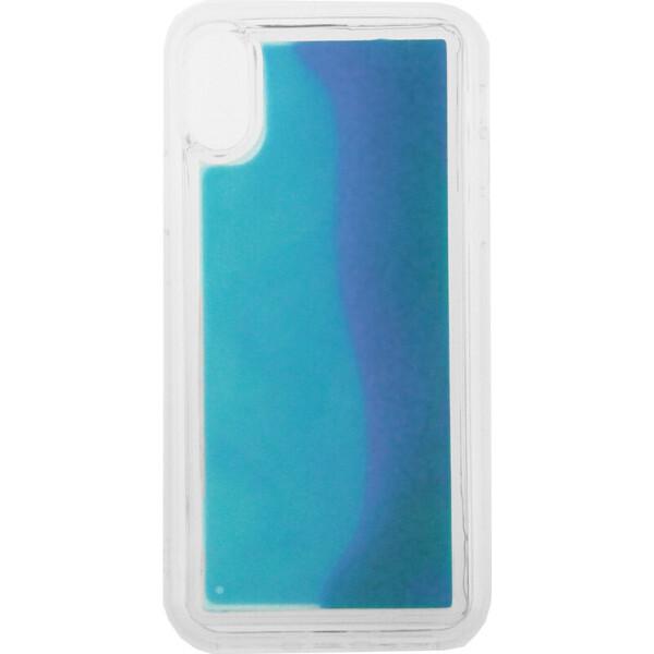Купить Чехлы для телефонов, Чехол-накладка TOTO Night Light Liquid Shine Case Apple iPhone X/Xs Blue (bz_F_103222)