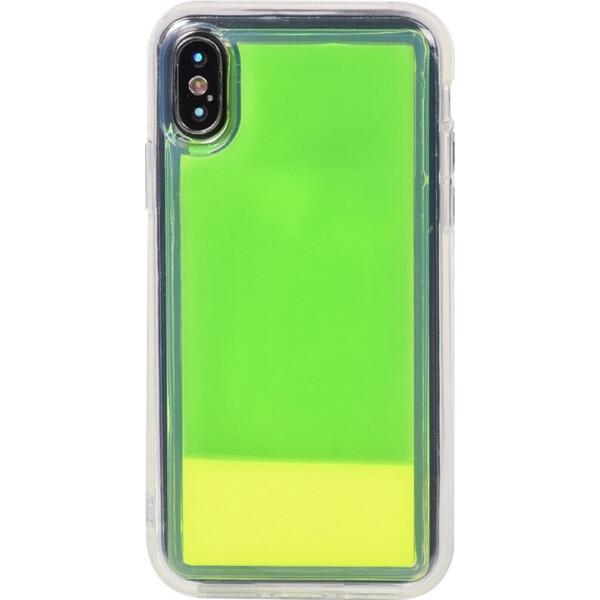 Купить Чехлы для телефонов, Чехол-накладка TOTO Night Light Liquid Shine Case Apple iPhone X/Xs Green (bz_F_103224)