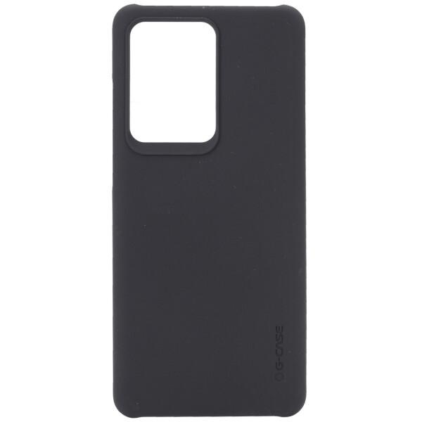 PC чехол c микрофиброй G-Case Juan Series для Samsung Galaxy S20 Ultra Черный (is_00000034661_4)