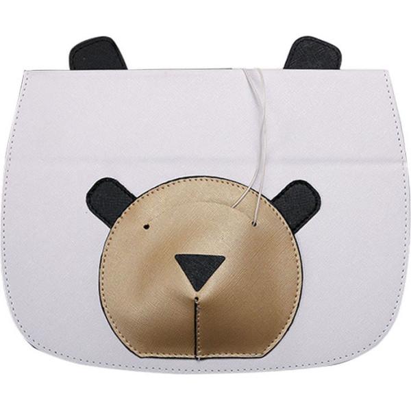 Купить Чехлы для планшетов, Кожаный чехол-книжка TTX Bear Face с подставкой для Apple iPad mini (Retina)/Apple iPad mini 3 (Белый) (623589)