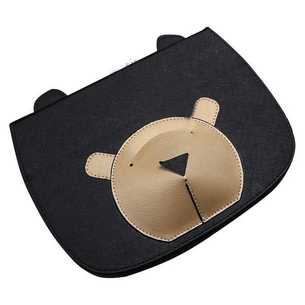 Купить Чехлы для планшетов, Кожаный чехол-книжка TTX Bear Face с подставкой для Apple iPad mini (Retina)/Apple iPad mini 3 (Черный) (623591)