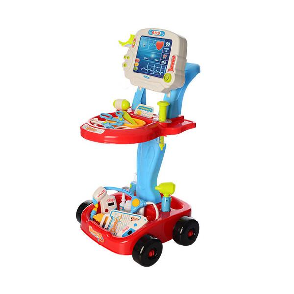 Купить Игровые наборы, Набор доктора Limo Toy 660-45-46 Красный