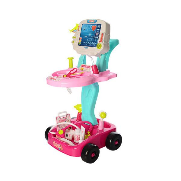 Купить Игровые наборы, Набор доктора Limo Toy 660-45-46 Розовый