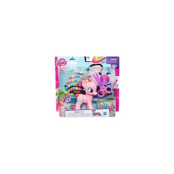 Купить Фигурки игровые, персонажи мультфильмов, Детский Игровой Набор Для Девочек Пинки Пай с прической и ножницами Pinkie Pie My little pony Hasbro Хасбро