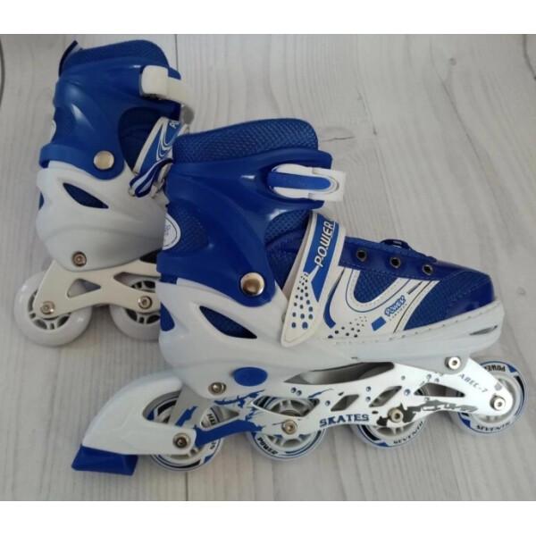 Купить Роликовые коньки, PROFI A12100-8-L blue