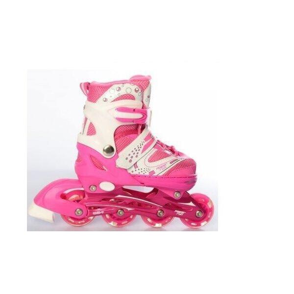 Роликовые коньки, PROFI A12100-8-L pink  - купить со скидкой
