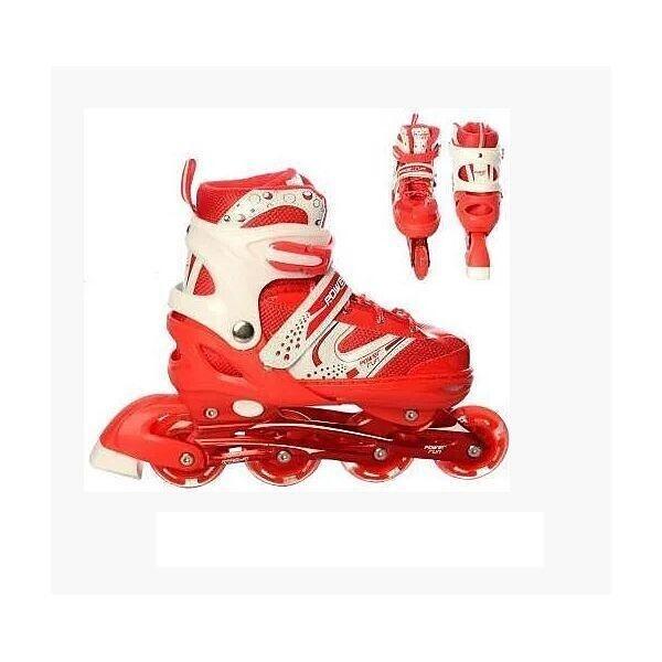 Купить Роликовые коньки, PROFI A12100-8-L red