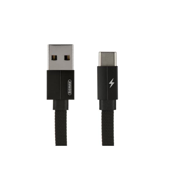 Купить Аудио- и видеокабели, Remax Kerolla MicroUSB Data/Charge[RC-094M1M-BLACK]