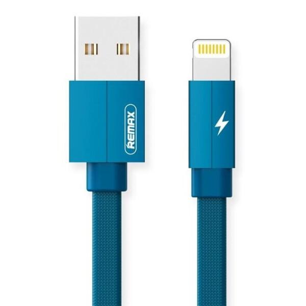 Купить Аудио- и видеокабели, Remax Kerolla Lightning Data/Charge[RC-094I1M-BLUE]