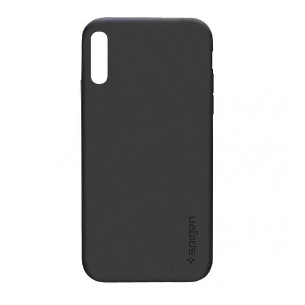 Купить Чехлы для телефонов, TPU чехол SPIGEN для Samsung Galaxy A70 (A705F) Черный (105280)