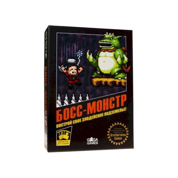 Купить Настольные игры, Настольная игра GaGa Games Босс-Монстр (Boss Monster: the Dungeon-Building Card Game) (GG122)