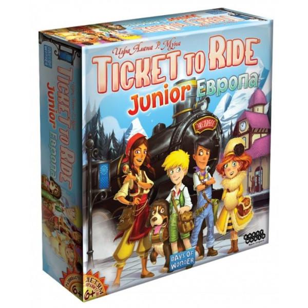 Купить Настольные игры, Настольная игра Hobby World Ticket to Ride Junior: Европа (1867)