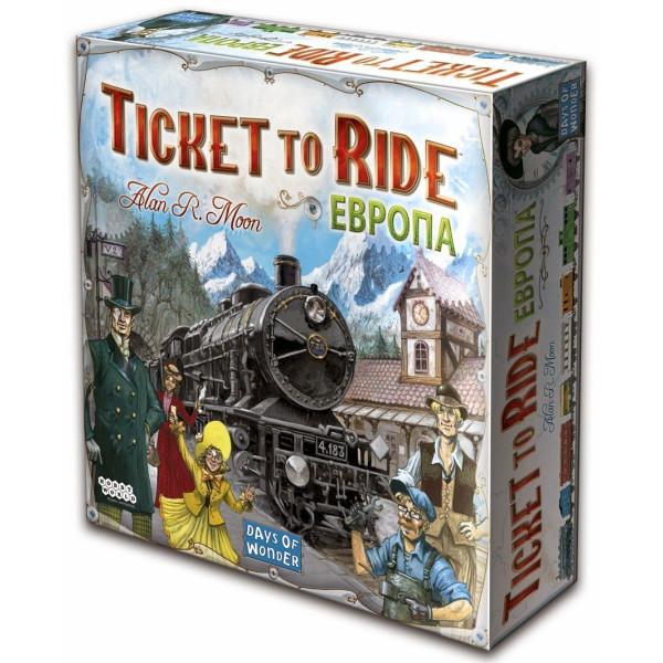 Настольные игры, Настольная игра Hobby World Ticket to Ride: Европа (1032)  - купить со скидкой