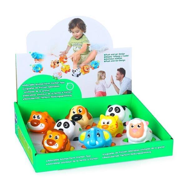 Купить Игрушки для самых маленьких, Игрушка Hola Toys Веселый зоопарк 8 шт. (376)