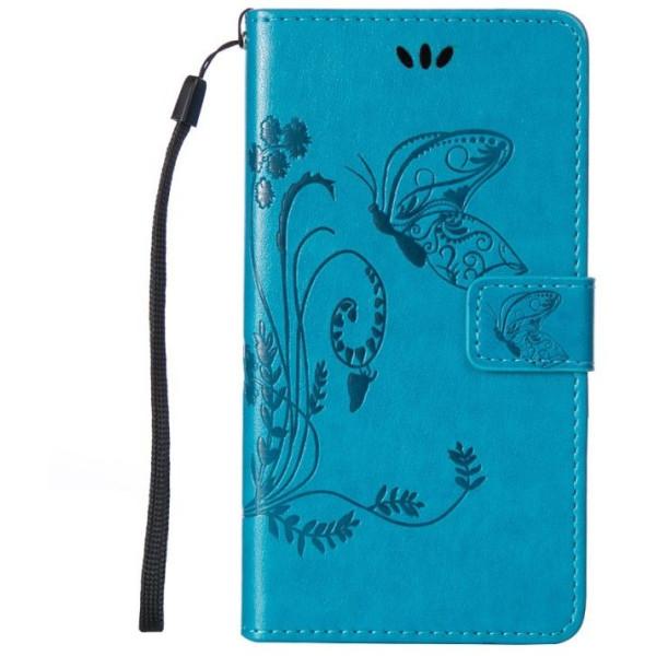 Купить Чехлы для телефонов, кожаный (книжка) Four-leaf Clover с визитницей для Meizu M3 Note (Синий) (406692), Epik