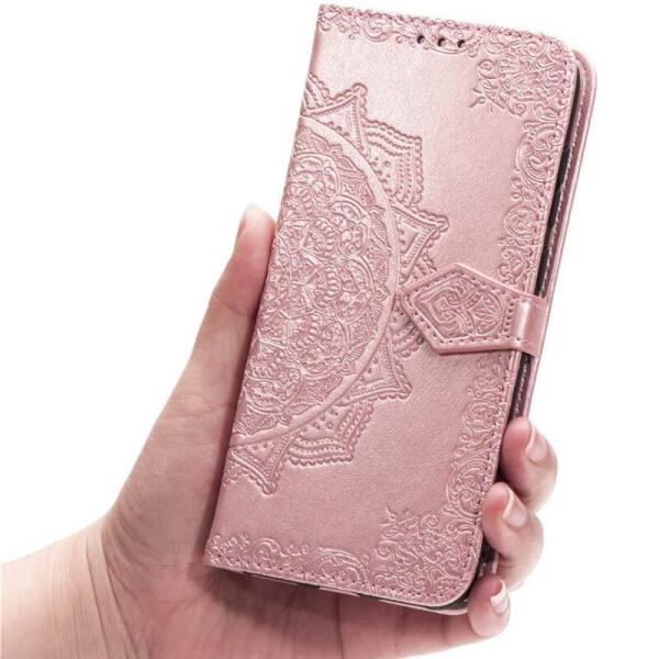 Купить Чехлы для телефонов, Кожаный чехол (книжка) Art Case с визитницей для Samsung Galaxy M31 Розовый (128722), Epik