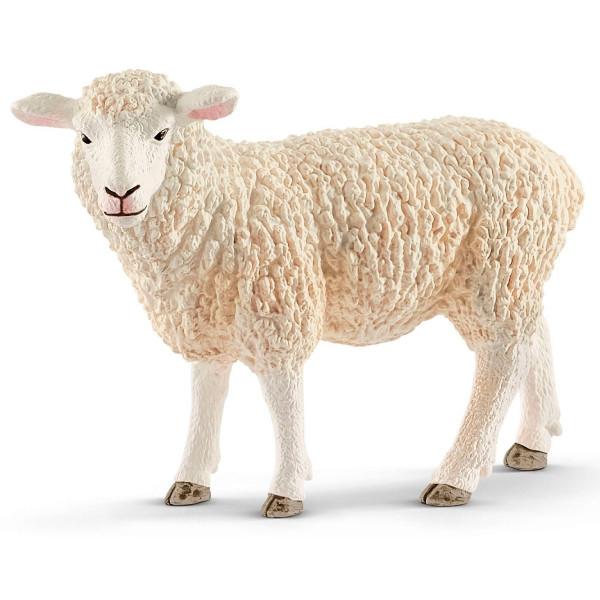 Купить Фигурки игровые, персонажи мультфильмов, Игрушка-фигурка Schleich Овца (13882)