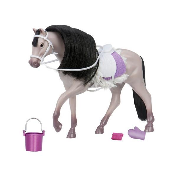 Купить Куклы, наборы для кукол, Серая андалузкая лошадь, игровая фигура Lori (LO38001Z)