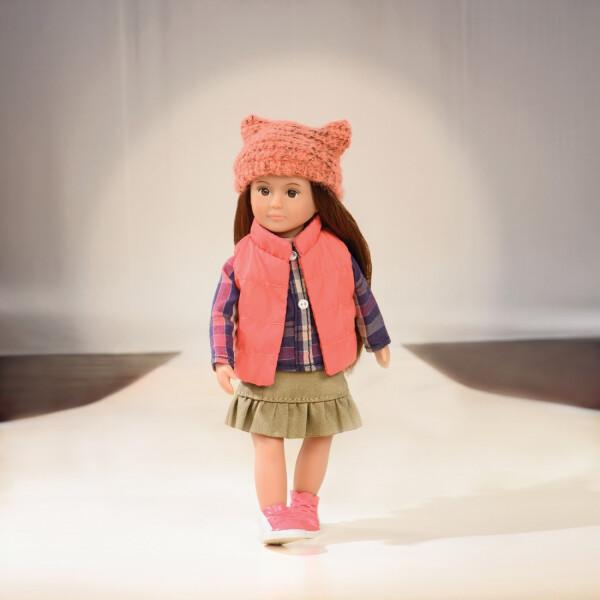 Купить Куклы, наборы для кукол, Оранжевый жилет, одежда для кукол Lori (LO30004Z)