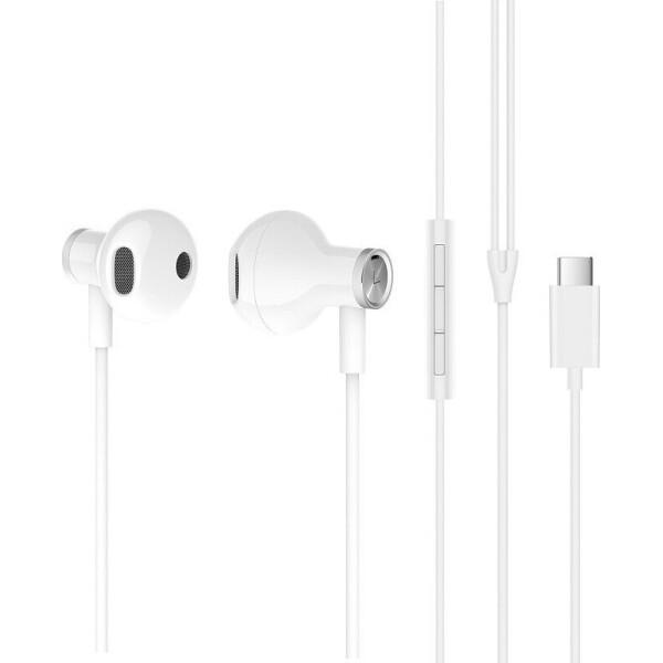 Наушники Xiaomi Mi Dual Driver Earphones Type-C (ZBW4434TY) White