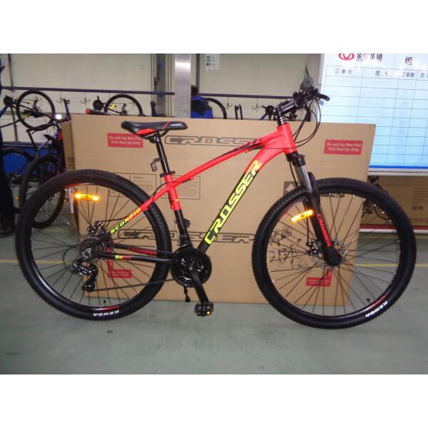 Велосипеды, Crosser Scorpio 26 17 Orange / Black (Scorpio 26/17)  - купить со скидкой
