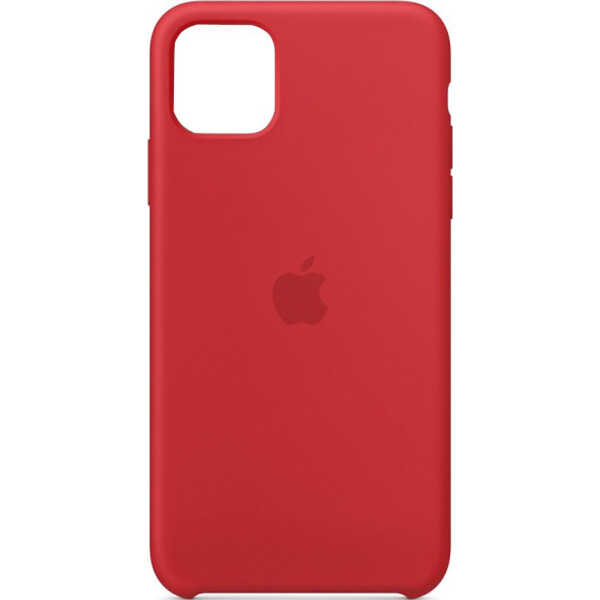 Silicone case (A) для Apple iPhone 11 (6.1) (Red) (768103)