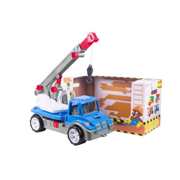 Купить Машинки, техника игровая, Игрушечная машинка ТехноК Автокран (3893)