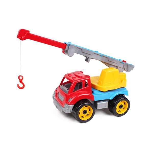 Купить Машинки, техника игровая, Игрушечная машинка ТехноК Автокран (4562)