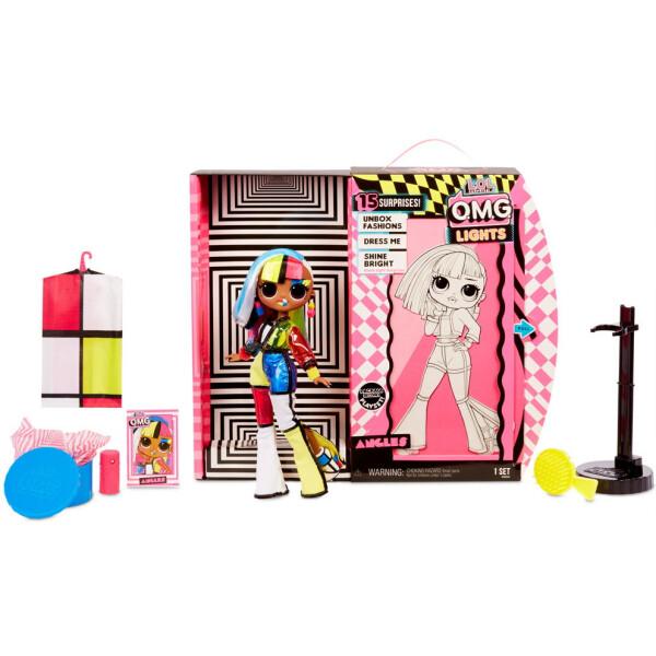 Купить Куклы, наборы для кукол, Игровой набор-сюрприз с куклой L.O.L. SURPRISE! серия O.M.G. Lights - Ангел с аксессуарами (565178)